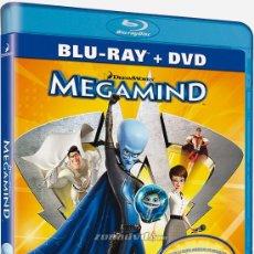 Cine: BLU RAY MEGAMIND NUEVO EDICION DOS DISCOS, BLUE RAY Y DVD. Lote 29934351