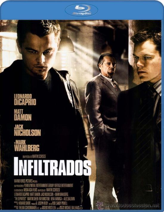 Blu Ray Infiltrados Leonardo Dicaprio Matt Da Kaufen Kinofilme