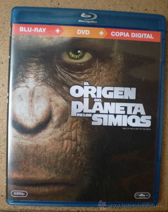 PELÍCULA BLU RAY EL ORIGEN DEL PLANETA DE LOS SIMIOS (Cine - Películas - Blu-Ray Disc)