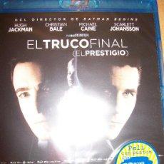 Cine: 2 BLU-RAY EL TRUCO FINAL + BATMAN – PRECINTADO – 2 EN 1. Lote 34501754