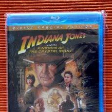 Cine: INDIANA JONES Y EL REINO DE LA CALAVERA DE CRISTAL - BLURAY 2 DISCOS CASTELLANO PRECINTADA. Lote 37132567