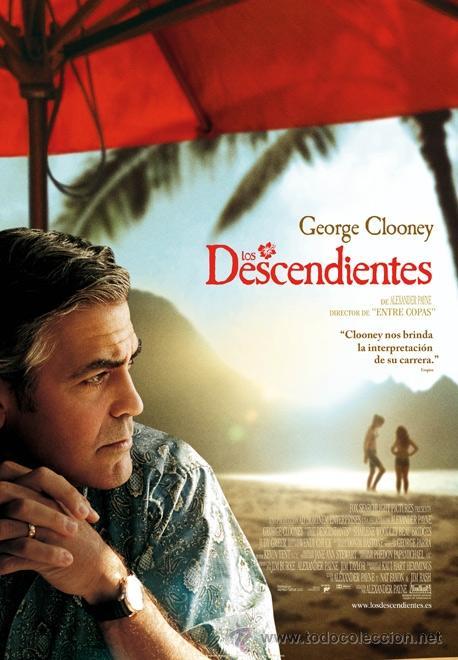 PELICULA BLU RAY - LOS DESCENDIENTES (Cine - Películas - Blu-Ray Disc)