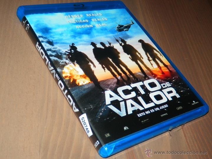 ACTOS DE VALOR ESTO NO ES UN JUEGO BLU RAY DISC ACCION CASI NUEVO L (Cine - Películas - Blu-Ray Disc)