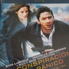Cine: BLU RAY LA CONSPIRACION DEL PANICO BLUE RAY EDICION ESPECIAL CON EXTRAS. Lote 39828604