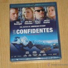 Cine: LOS CONFIDENTES BLU-RAY DISC KIM BASINGER MICKEY ROURKE WINONA RYDER NUEVO PRECINTADO. Lote 184131435