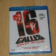 Cine: 16 CALLES BLU-RAY DISC BRUCE WILLIS NUEVO PRECINTADO. Lote 261747390