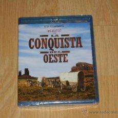Cine: LA CONQUISTA DEL OESTE EDICION ESPECIAL 2 BLU-RAY DISC NUEVO PRECINTADO. Lote 205358137