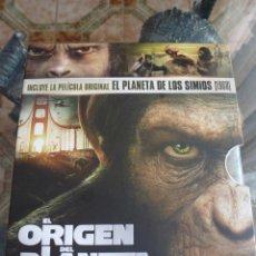 Cine: DVD-BLU-RAY-EL PLANETA DE LOS SIMIOS(1968) Y EL ORIGEN PLANETA DE LOS SIMIOS-FOTOS. Lote 42979425