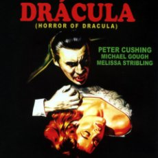 Cine: DRACULA (BLU - RAY DISC EDICION COLECCIONISTA) CHRISTOPHER LEE - PETER CUSHING. Lote 217044483