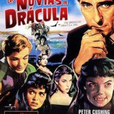 Cine: LAS NOVIAS DE DRACULA (BLU - RAY DISC PRECINTADO) PETER CUSHING - CLASICOS HAMMER FIL. Lote 253350790