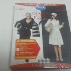 Cine: EL DIABLO VISTE DE PRADA- BLU-RAY + DVD + COPIA DIGITAL-PRECINTADO-2073 3. Lote 43950776