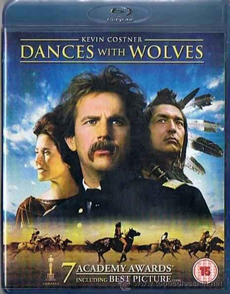 DANCES WITH WOLVES KEVIN COSTNER BLU - RAY DISC (Cine - Películas - Blu-Ray Disc)
