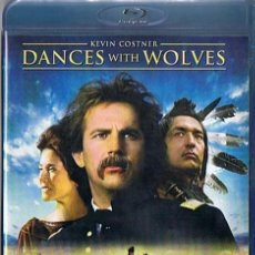 Cine: DANCES WITH WOLVES KEVIN COSTNER BLU - RAY DISC . Lote 44059117