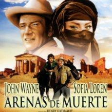 Cine: ARENAS DE MUERTE (BLU-RAY BD PRECINTADO) JOHN WAYNE - SOPHIA LOREN. Lote 272467438
