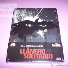 Cine: EL LLANERO SOLITARIO DISNEY BLU-RAY NUEVO Y PRECINTADO STEELBOOK. Lote 45801134