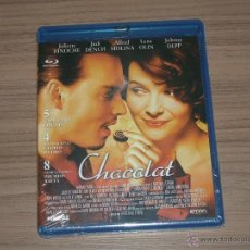 Cine: CHOCOLAT BLU-RAY DISC JOHNNY DEEP NUEVO PRECINTADO. Lote 248941005
