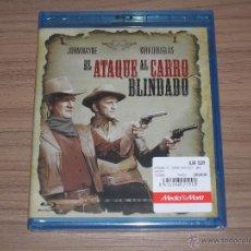 Cine: EL ATAQUE AL CARRO BLINDADO BLU-RAY DISC JOHN WAYNE KIRK DOUGLAS NUEVO PRECINTADO. Lote 205007136