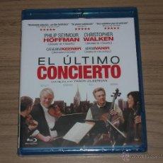 Cine: EL ULTIMO CONCIERTO BLU-RAY DISC CHRISTOPHER WALKEN HOFFMAN NUEVO PRECINTADO. Lote 105882882