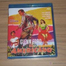 Cine: EL AMERICANO BLU-RAY DISC GLENN FORD NUEVO PRECINTADO. Lote 184131516