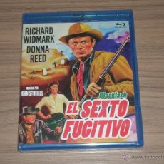 Cine: EL SEXTO FUGITIVO BLU-RAY DISC RICHARD WIDMARK DONNA REED NUEVO PRECINTADO. Lote 221874765
