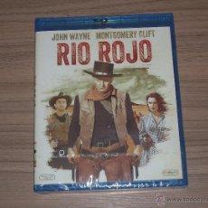 Cine: RIO ROJO BLU-RAY DISC HOWARD HAWKS JOHN WAYNE NUEVO PRECINTADO. Lote 222170503