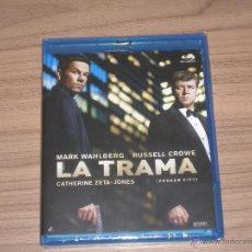 Cine: LA TRAMA BLU-RAY DISC RUSSELL CROWE MARK WAHLBERG CATHERINE-ZETA JONES NUEVO PRECINTADO. Lote 130021151