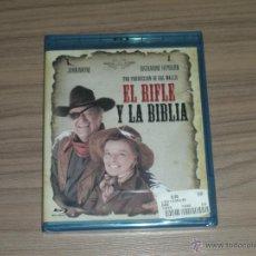 Cine: EL RIFLE Y LA BIBLIA BLU-RAY DISC JOHN WAYNE NUEVO PRECINTADO. Lote 205007171