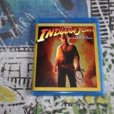Cine: INDIANA JONES - EL REINO DE LA CALAVERA DE CRISTAL - EDICIÓN ESPECIAL - 2 DISCOS - BLU-RAY. Lote 49520264