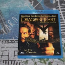 Cine: DRAGONHEART - DENNIS QUAID - DAVID THEWLIS - SEAN CONNERY - BLU-RAY DISC. Lote 49530975