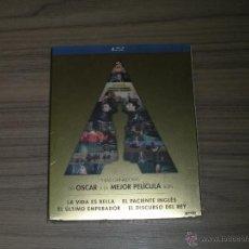 Cine: 4 BLU-RAY DISC LA VIDA ES BELLA , EL PACIENTE INGLES , EL DISCURSO DEL REY Y EMPERADOR PRECINTADOS. Lote 105884936