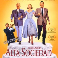 Cine: ALTA SOCIEDAD (BLU-RAY DISC BD PRECINTADO) FRANK SINATRA - BING CROSBY - GRACE KELLY. Lote 272467233
