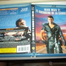 Cine: MAD MAX 2 EL GUERRERO DE LA CARRETERA MEL GIBSON BLU RAY DISC ORIGINAL. Lote 50567517