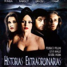 Cine: HISTORIAS EXTRAORDINARIAS (BLU-RAY DISC BD PRECINTADO) TERROR DE CULTO BRIGITTE BARDOT JANE FONDA. Lote 116121172