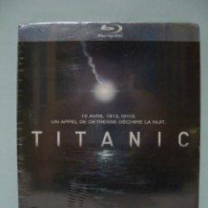 Cine: TITANIC (EL MAYOR NAUFRAGIO DE LA HISTORIA) - DVD FRANCÉS / INGLÉS - AVENTURA / DRAMA (PRECINTADO). Lote 50669527