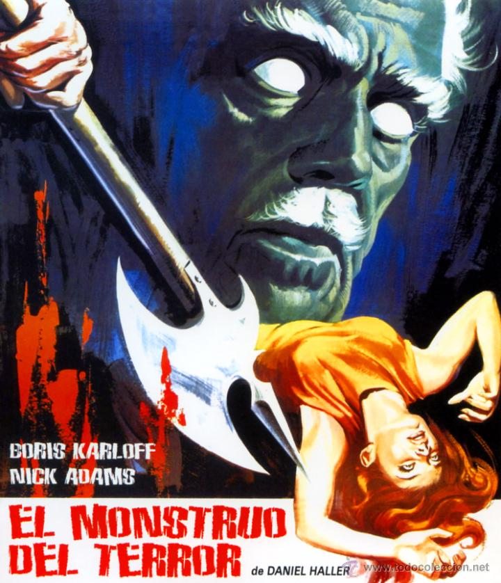 EL MONSTRUO DEL TERROR (BLU - RAY DISC PRECINTADO) TERROR DE CULTO BORIS KARLOFF (Cine - Películas - Blu-Ray Disc)