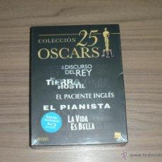 Cine: COLECCION 25 OSCARS 5 BLU-RAY DISC EL PIANISTA - LA VIDA ES BELLA - EL PACIENTE INGLES, ETC.. NUEVO. Lote 105885119