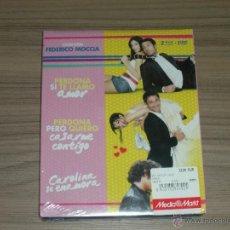 Cine: PAK 3 PERDONA SI TE LLAMO AMOR + QUIERO CASARME CONTIGO Y CAROLINA SE ENAMORA 2 BLU-RAY DISC + DVD. Lote 288579178