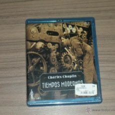 Cine: TIEMPOS MODERNOS BLU-RAY DISC CHARLES CHAPLIN NUEVO PRECINTADO. Lote 105884888