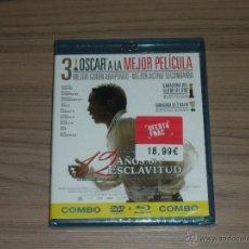Cine: 12 AÑOS DE ESCLAVITUD EDICION ESPECIAL COMBO BLU-RAY DISC + DVD NUEVO PRECINTADO. Lote 148212286