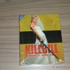 Cine: KILL BILL 1 + 2 EDICION ESPECIAL 2 BLU-RAY DISC + POSTER EXCLUSIV QUENTIN TARANTINO NUEVO PRECINTADO. Lote 104397428