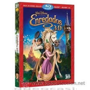 ENREDADOS 3D BLU RAY (Cine - Películas - Blu-Ray Disc)