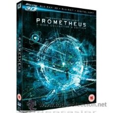 Cine: PROMETHEUS 3D BLU RAY. Lote 52575223