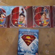 Cine: THE SUPERMAN MOTION PICTURE ANTHOLOGY - SUPERMAN 1, 2, 3, 4 Y SUPERMAN RETURNS. Lote 53044916