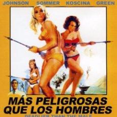 Cine: MAS PELIGROSAS QUE LOS HOMBRES (BLU-RAY BD PRECINTADO) RICHARD JOHNSON - ELKE SOMMER - SYLVA KOSCINA. Lote 278453703
