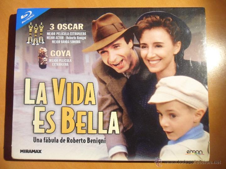 La Vida Es Bella Blu Ray Disc De La Pelicula D Comprar Películas