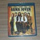 Cine: ARMA JOVEN BLU-RAY DISC EMILIO ESTEVE SUTHERLAND CHARLIE SHEEN NUEVO PRECINTADO. Lote 161263680