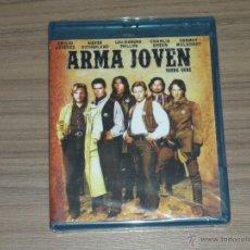 Cine: ARMA JOVEN BLU-RAY DISC EMILIO ESTEVE SUTHERLAND CHARLIE SHEEN NUEVO PRECINTADO. Lote 126070428