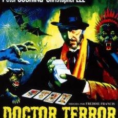 Cine: DOCTOR TERROR (BLU-RAY DISC BD) PETER CUSHING - CHRISTOPHER LEE - TERROR DE CULTO. Lote 121479791