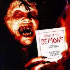 Cine: LA NOCHE DE LOS DEMONIOS (NIGHT OF THE DEMONS) (BLU-RAY PRECINTADO) TERROR DE CULTO. Lote 187446571