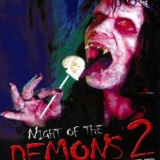 Cine: LA NOCHE DE LOS DEMONIOS 2 (NIGHT OF THE DEMONS 2) (BLU-RAY PRECINTADO) TERROR DE CULTO. Lote 187446557